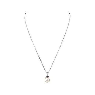 SWAROVSKI Crystal Originally Rhodium-Plated Pendant Necklace【並行輸入品】