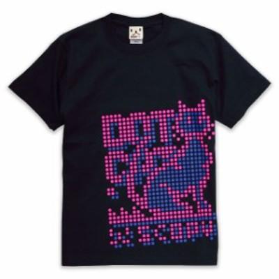 Tシャツ メンズ レディース 半袖 猫 DOT.CAT - ネイビー ネコ ねこ 猫柄 雑貨 - メール便 - SCOPY スコーピー