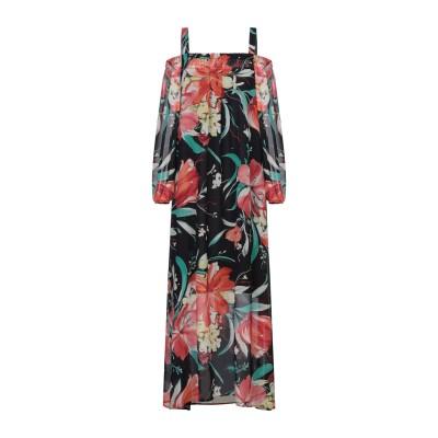 FLY GIRL ロングワンピース&ドレス ブラック XS ポリエステル 100% ロングワンピース&ドレス