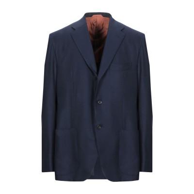 サルトリオ SARTORIO テーラードジャケット ダークブルー 56 ウール 100% テーラードジャケット