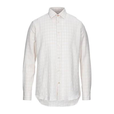 ポール・スミス PAUL SMITH シャツ ベージュ 17 ½ コットン 99% / ポリウレタン 1% シャツ