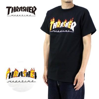 THRASHER スラッシャー 半袖 Tシャツ FLAME MAG 311194