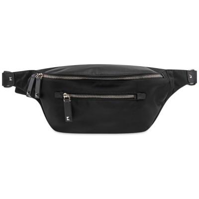 ヴァレンティノ Valentino メンズ ボディバッグ・ウエストポーチ バッグ VLTN Technical Waist Bag Black