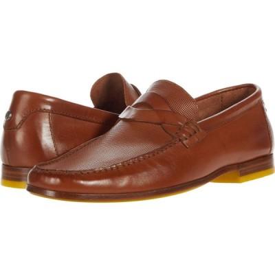 ドナルド プリナー Donald Pliner メンズ ローファー シューズ・靴 Hockney Cognac