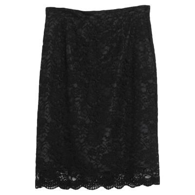 SISTE' S ひざ丈スカート ブラック S ポリエステル 100% ひざ丈スカート
