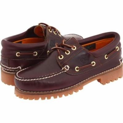 ティンバーランド Timberland メンズ 革靴・ビジネスシューズ シューズ・靴 Traditional Handsewn 3-Eyelet Classic Lug Burgundy Smooth