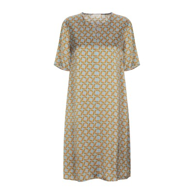 SIYU ミニワンピース&ドレス スカイブルー 38 レーヨン 100% ミニワンピース&ドレス