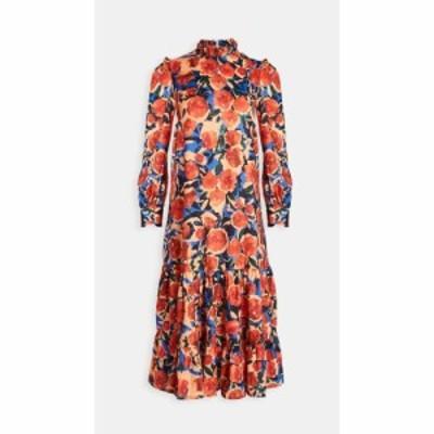 ネバーフリードレス Never Fully Dressed レディース ワンピース ワンピース・ドレス Modest Dress Orange