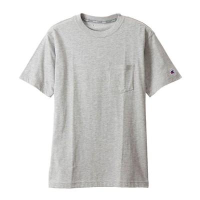 チャンピオン Tシャツ 半袖 メンズ 袖ロゴ Champion T-SHIRTS オックスフォードグレー / C3RS306 / M L XL / 正規品 ネコポスOK 在庫品