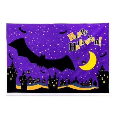 ハロウィンパネルオックス 幅140×90cm|壁紙 撮影背景 パーティグッズ フォトスポット お昼寝アート 生地 布 布地 厚地 厚手 トーカイ