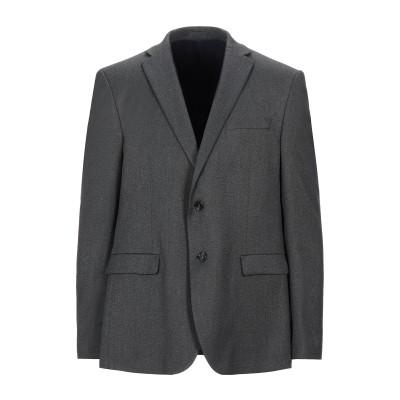 LIU •JO MAN テーラードジャケット スチールグレー 44 ポリエステル 63% / レーヨン 35% / ポリウレタン 2% テーラードジ