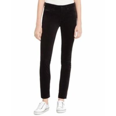 Calvin Klein カルバンクライン ファッション パンツ Calvin Klein Jeans NEW Black Womens Size 29X25 Velvet Ankle Pants