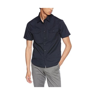 [ユナイテッドアスレ] T/Cワークシャツ メンズ 177201 ダークネイビー 日本 M (日本サイズM相当)