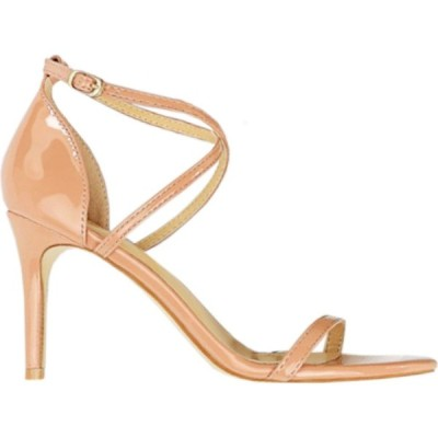トゥエンティーエイトシューズ Twenty Eight Shoes レディース サンダル・ミュール シューズ・靴 Shiny Cross Straps Heel Sandals Vs126A7 Nude