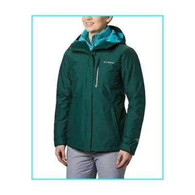 Columbia Women's Whirlibird Interchange Jacket, Waterproof and Breathable, Dark Ivy Crossdye, Small