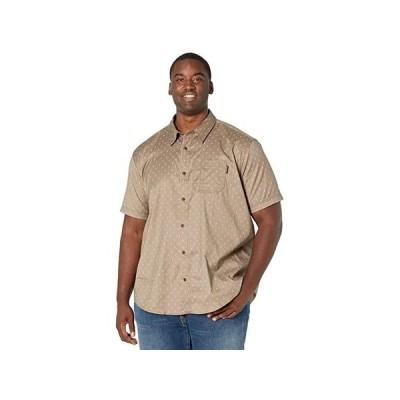 ティンバーランド Extended Amesbury Short Sleeve Work Shirt メンズ シャツ トップス Walnut/Arrow Print
