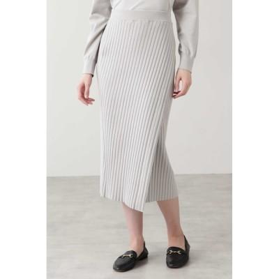 【ヒューマンウーマン/HUMAN WOMAN】 ◆コットンポリエステルニットスカート≪Rue dieu a la HUMAN WOMAN≫