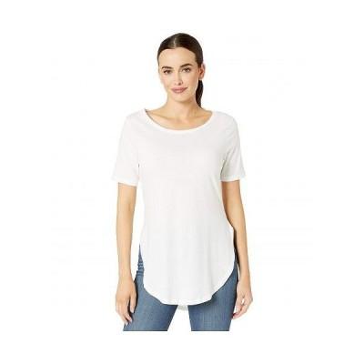Alternative オルタネイティブ レディース 女性用 ファッション Tシャツ Organic 1/2 Sleeve Tunic - Earth White