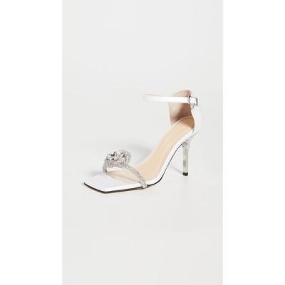マーク&マーク MACH & MACH レディース サンダル・ミュール シューズ・靴 Rosie Sandals White