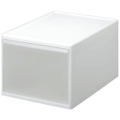 吉川国工業所 組み合わせて使える収納ケース ワイドL (ホワイト) MOS-06ホワイト 返品種別A