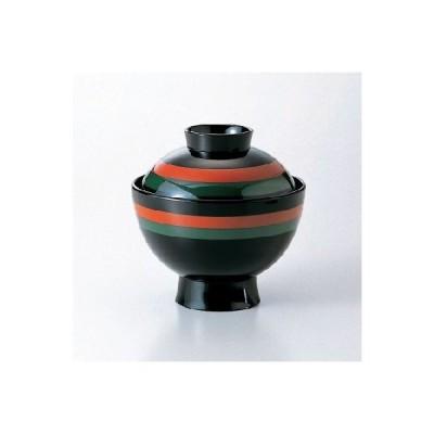 3.5寸 雅小吸椀 黒二色歌舞伎/業務用/新品