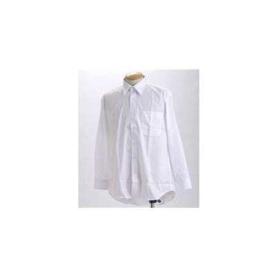 ブラック & ホワイト ワイシャツ2枚セット 長袖 M   2点お得セット