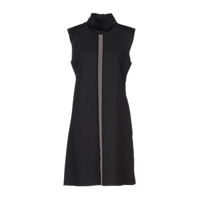 OPERÀ ミニワンピース&ドレス ブラック 44 レーヨン 65% / ポリエステル 30% / ポリウレタン 5% ミニワンピース&ドレス