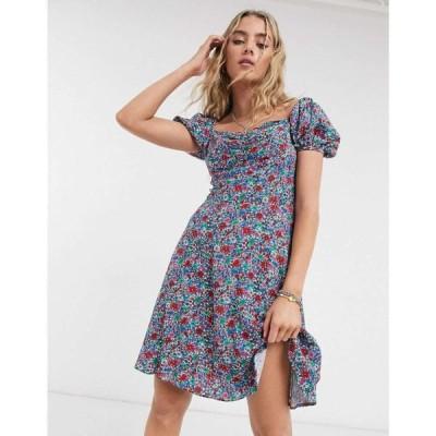 ペペジーンズ Pepe Jeans レディース ワンピース ワンピース・ドレス Jenni Floral Dress マルチカラー