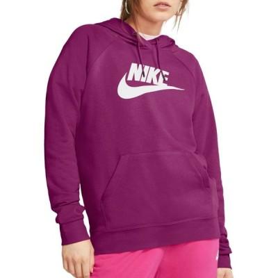 ナイキ Nike レディース パーカー トップス Sportswear Essential Fleece Pullover Hoodie Cactus Flower
