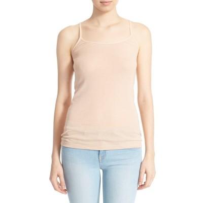 ジョア Tシャツ トップス レディース 'Coraline' Cotton Camisole Dusty Pink Sand