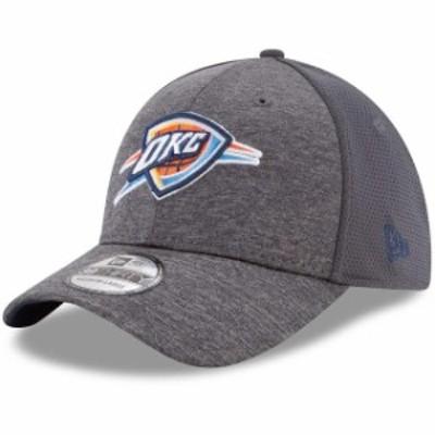 New Era ニュー エラ スポーツ用品  New Era Oklahoma City Thunder Graphite Shadowed Team 2 39THIRTY Flex Hat
