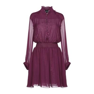 ジャストカヴァリ JUST CAVALLI ミニワンピース&ドレス パープル 44 100% レーヨン ミニワンピース&ドレス