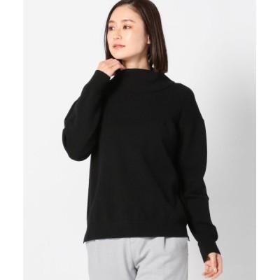 MEW'S REFINED CLOTHES / ウォッシャブルもちもちオフタートルニット WOMEN トップス > ニット/セーター