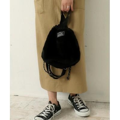 Factor= / エコファーミニ巾着バッグ WOMEN バッグ > トートバッグ