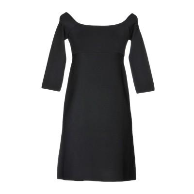 リュー ジョー LIU •JO ミニワンピース&ドレス ブラック 42 レーヨン 85% / ポリエステル 13% / ポリウレタン 2% ミニワン
