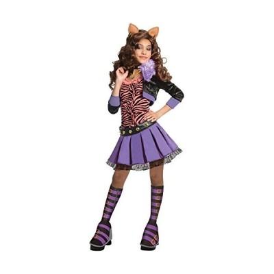 モンスターハイ 衣装 コスチューム 884902LG Deluxe Clawdeen Wolf Kids Costume - Medium