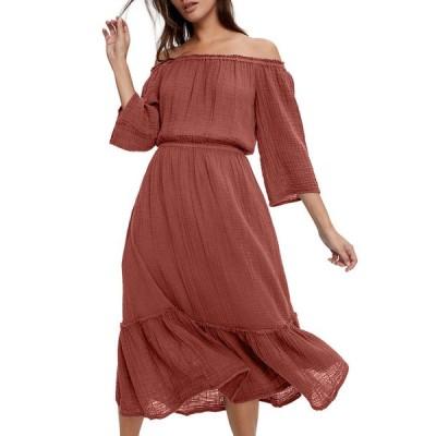 マイケルスターズ レディース ワンピース トップス Anya Convertible Tiered Dress
