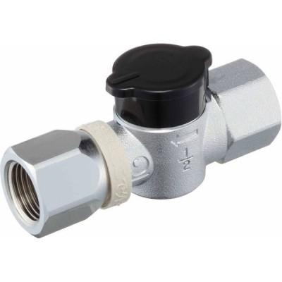 光陽産業 G331ON フレキ UIねじガス栓 1個(直送品)