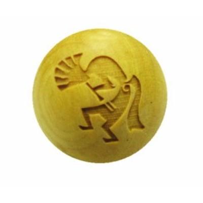 ココペリ 彫刻ビーズ 12mm 柘植玉 横穴 手作りにオススメ!一粒売り パワーストーン