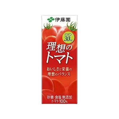 伊藤園 理想のトマト 紙パック 200ml×24本