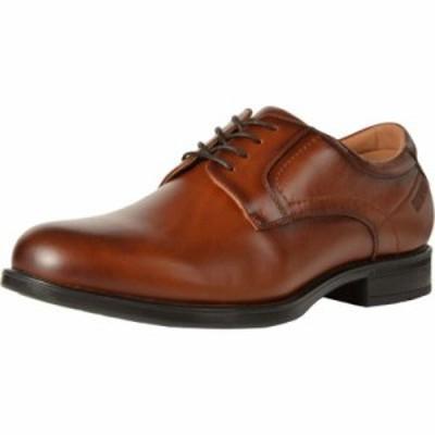 フローシャイム 革靴・ビジネスシューズ Midtown Waterproof Plain Toe Oxford Cognac Smooth