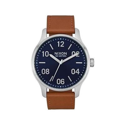 腕時計 ニクソン アメリカ A1243-2186-00 NIXON Men's Stainless Steel Quartz Watch with Leather Strap,