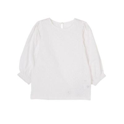 【ラグナムーン/LAGUNAMOON】 カットワークトップス