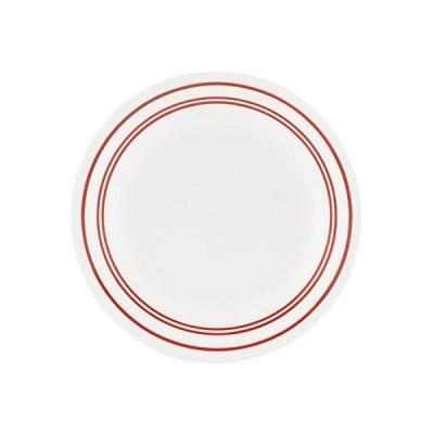 コレール プレート 皿 外径17cm 割れにくい 軽量 クラシックカフェレッド ブレッドプレート CP-8740