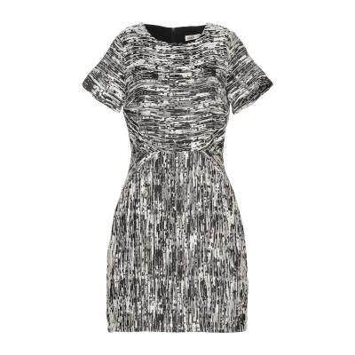 LAVAND. ミニワンピース&ドレス ブラック S ポリエステル 80% / コットン 20% ミニワンピース&ドレス