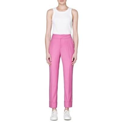 スイスタジオ レディース カジュアルパンツ ボトムス Lane Wool Trousers PINK
