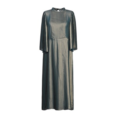 マニラ グレース MANILA GRACE 7分丈ワンピース・ドレス ブロンズ 38 ポリエステル 100% 7分丈ワンピース・ドレス
