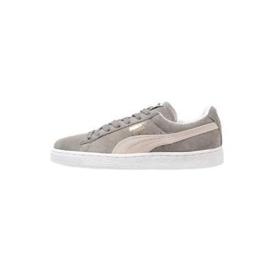 プーマ スニーカー メンズ シューズ SUEDE CLASSIC+ - Trainers - steeple gray/white