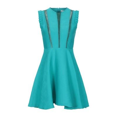 SANDRO ミニワンピース&ドレス ターコイズブルー 40 レーヨン 85% / ナイロン 15% ミニワンピース&ドレス