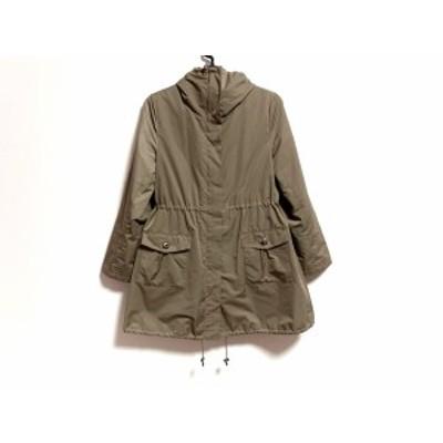 アナイ ANAYI コート サイズ38 M レディース ダークブラウン 冬物【中古】20200414